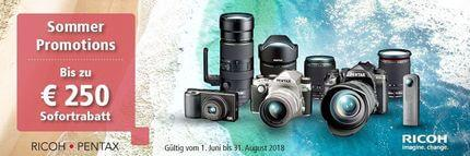 Pentax Sommer Promotions 2018